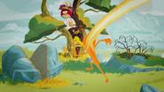 RAY CHOPS THE TREE