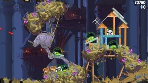 Moon of Endor 5-21 (Angry Birds Star Wars)/Video Walkthrough