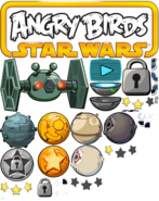 Angry birds star wars planet misc