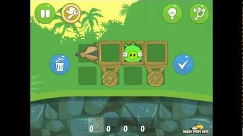 Bad Piggies Ground Hog Day 1-2 Walkthrough 3 Star