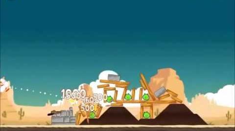 Official Angry Birds Walkthrough Ham 'Em High 12-1