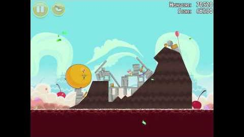 Angry Birds Birdday Party 18-7 Walkthrough 3 Star Birthday Party
