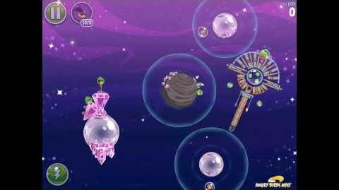 Angry Birds Space Cosmic Crystals 7-21 Walkthrough 3 Star