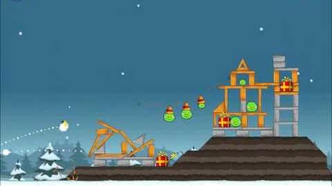 Official Angry Birds Seasons Walkthrough Season's Greedings 1-23