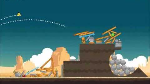 Official Angry Birds Walkthrough Ham 'Em High 14-11