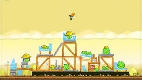 Official Angry Birds Walkthrough The Big Setup 11-1
