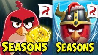Обзор игры Angry Birds Seasons (Злые Птички Времена Года) 2 игра серии Энгри Бердз