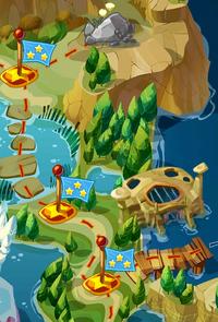 Озерный край на карте