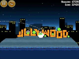 Official Angry Birds Walkthrough Danger Above 7-6