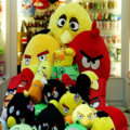 Angry Birds Merchandise Button