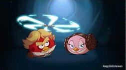 Angry Birds Star Wars Luke & Leia - first gameplay!