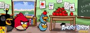 Angry birds back to the scholl image