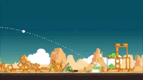 Official Angry Birds Walkthrough Ham 'Em High 14-6