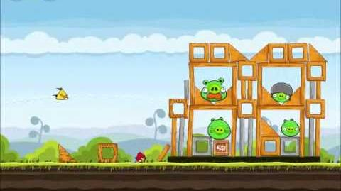 Official Angry Birds Walkthrough Mighty Hoax 4-13