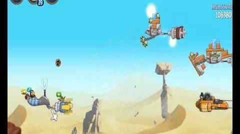Музыка в Angry Birds Star Wars 2 (уровень с боссом)