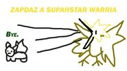 ZAPDAZ A SUPAHSTAR WARRIA