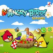 Angry-birds-seasons summer pignic