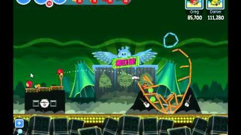 Angry Birds Friends Green Day Level 1 Walkthrough 3 Star - Facebook