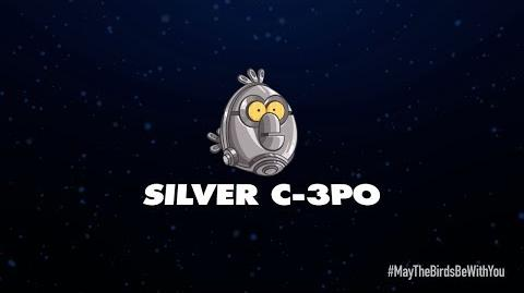 NEW! Angry Birds Star Wars 2 character reveals Silver C-3PO-3