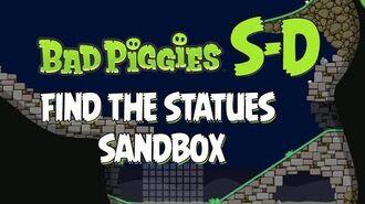 Bad Piggies Sandbox S-D Statues Walkthrough How to Get All 20 Stars