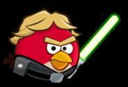 Luke bird со световым мечом