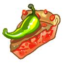 Острый овощной пирог