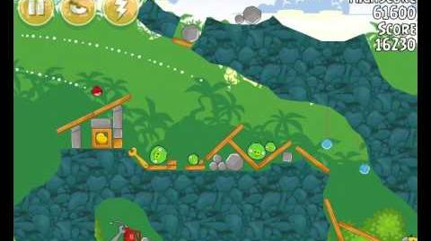 Angry Birds 21-11 Bad Piggies 3 Star Walkthrough (Angry Birds Classic 21-11)