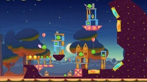 Angry Birds Seasons Abra-ca-Bacon 1-5 Walkthrough 3-Star