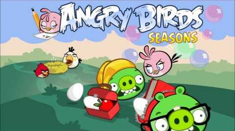 Angry Birds Seasons Back to School Theme (School Returns 2012)