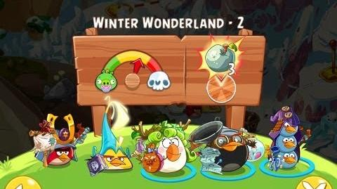 Angry Birds Epic Winter Wonderland Level 2 Walkthrough