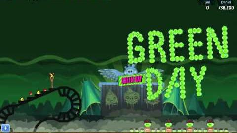 Angry Birds Friends Green Day Golden Grenade 2 Walkthrough (Golden Egg) - Facebook