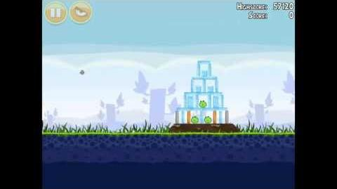 Angry Birds Poached Eggs 1-12 Walkthrough 3 Star