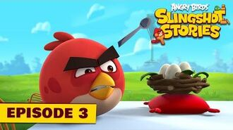 Angry Birds Slingshot Stories Ep. 3 - Cake party
