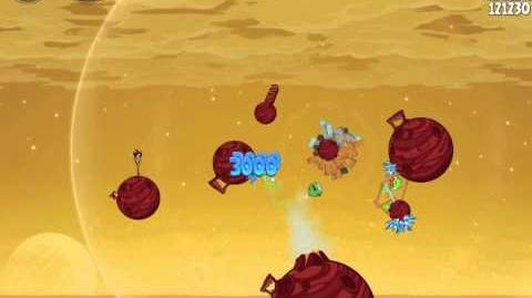 Angry Birds Space Red Planet 5-25 Walkthrough 3-Star