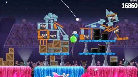 Official Angry Birds Rio Walkthrough Carnival Upheaval 7-7