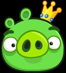 Rey Cerdo Angry Birds Friends