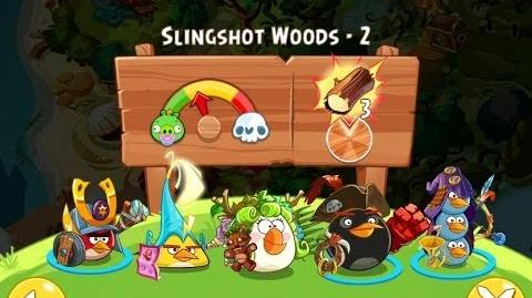 Angry Birds Epic Slingshot Woods Level 2 Walkthrough