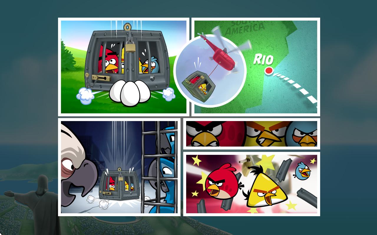 Resultado de imagem para Angry Birds Rio
