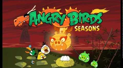 Angry Birds Seasons Year Of The Dragon Theme Tune
