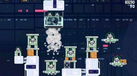 Cloud City 4-28 (Angry Birds Star Wars)/Video Walkthrough