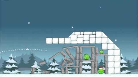 Official Angry Birds Seasons Walkthrough Season's Greedings 1-7