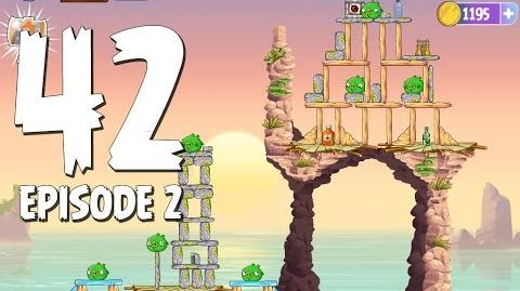 Angry Birds Stella Level 42 Episode 2 Beach Day Walkthrough