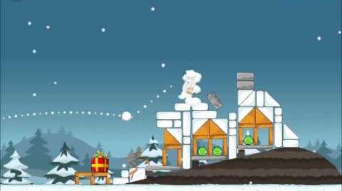 Official Angry Birds Seasons Walkthrough Season's Greedings 1-19