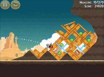 Official Angry Birds Walkthrough Ham 'Em High 14-2