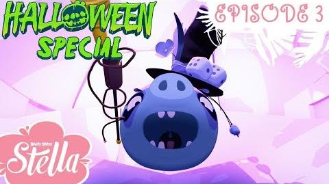 Angry Birds Stella Night of the Bling - S2 Ep3 Halloween