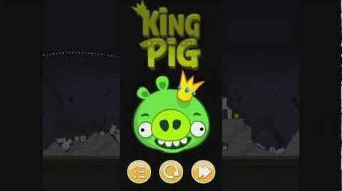 Angry Birds Golden King Pig Walkthrough (Видео Обзор Одного из уровней)