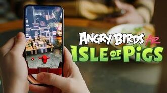 Angry Birds AR Isle of Pigs - OUT NOW!