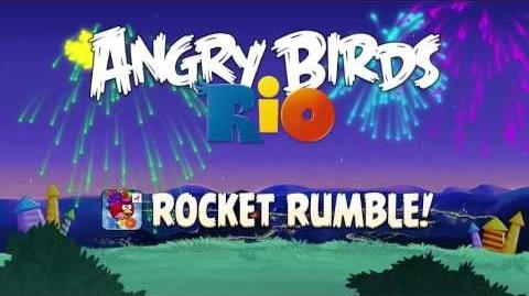 NEW Angry Birds Rio Rocket Rumble Update
