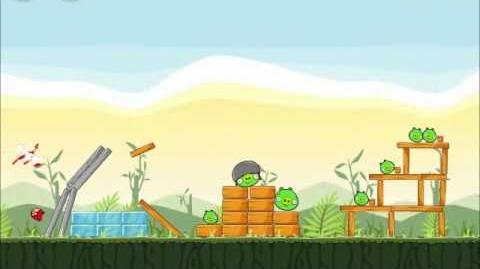 Official Angry Birds Walkthrough Poached Eggs 2-1