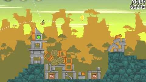 Angry Birds 22-1 Bad Piggies 3 Star Walkthrough (Angry Birds Classic 22-1)